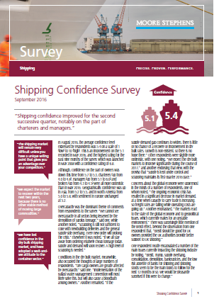 Shipping Confidence Survey 2016