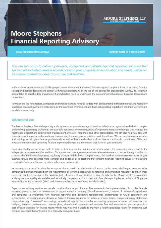 Financial-Reporting-Advisory